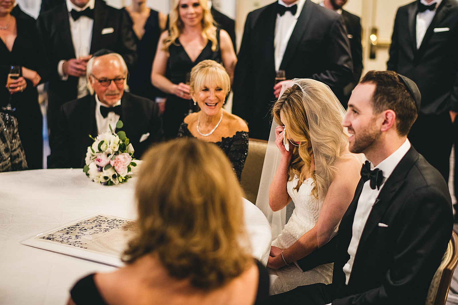 28 jewish wedding photos in chicago - Susie + Eric's Jewish Wedding at the Peninsula Hotel in Chicago