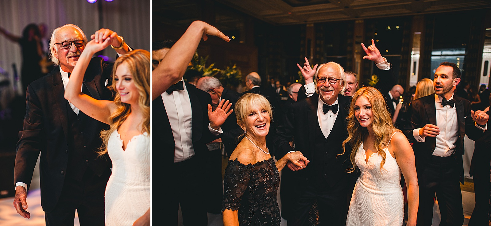 63 lets party - Susie + Eric's Jewish Wedding at the Peninsula Hotel in Chicago
