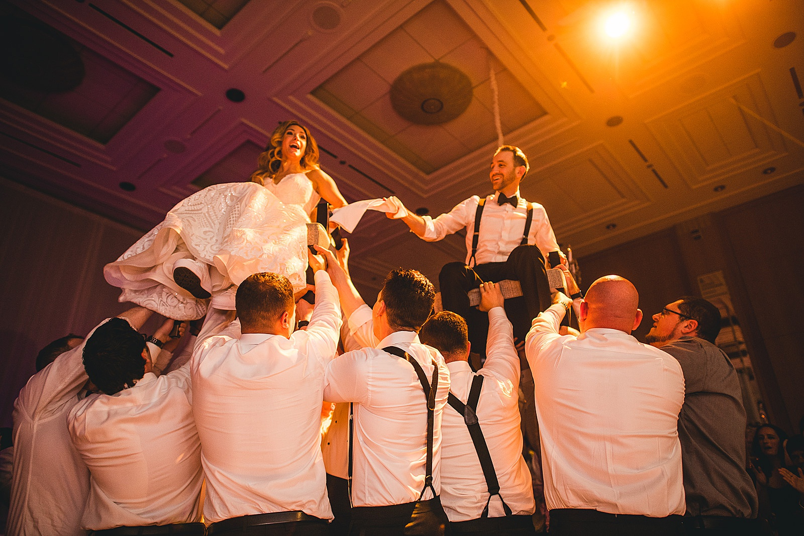 71 incredible hora wedding photos in chicago - Susie + Eric's Jewish Wedding at the Peninsula Hotel in Chicago