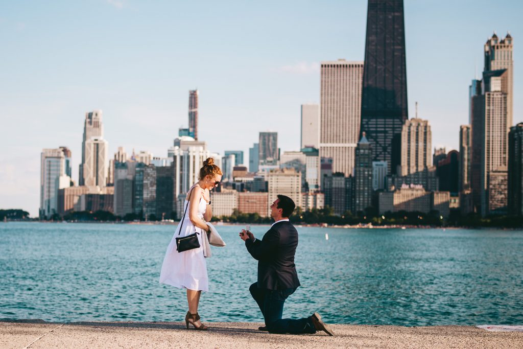Chicago Skyline Proposal // Chris + Chrissi