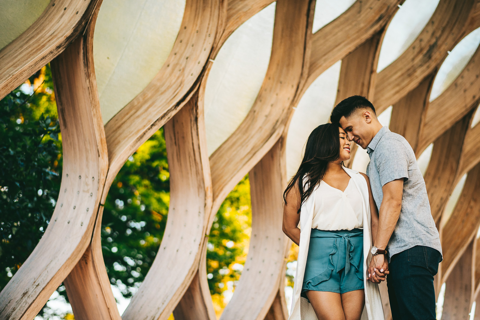 06 chicago engagement photographers - Sunset Engagement Photos // Francine + RJ
