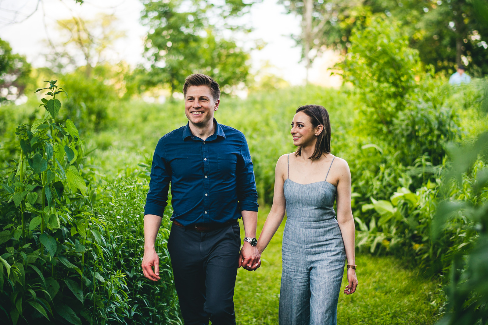 08 fun candid engagement session idea - Chicago Sunset Engagement Session // Lani + Ross