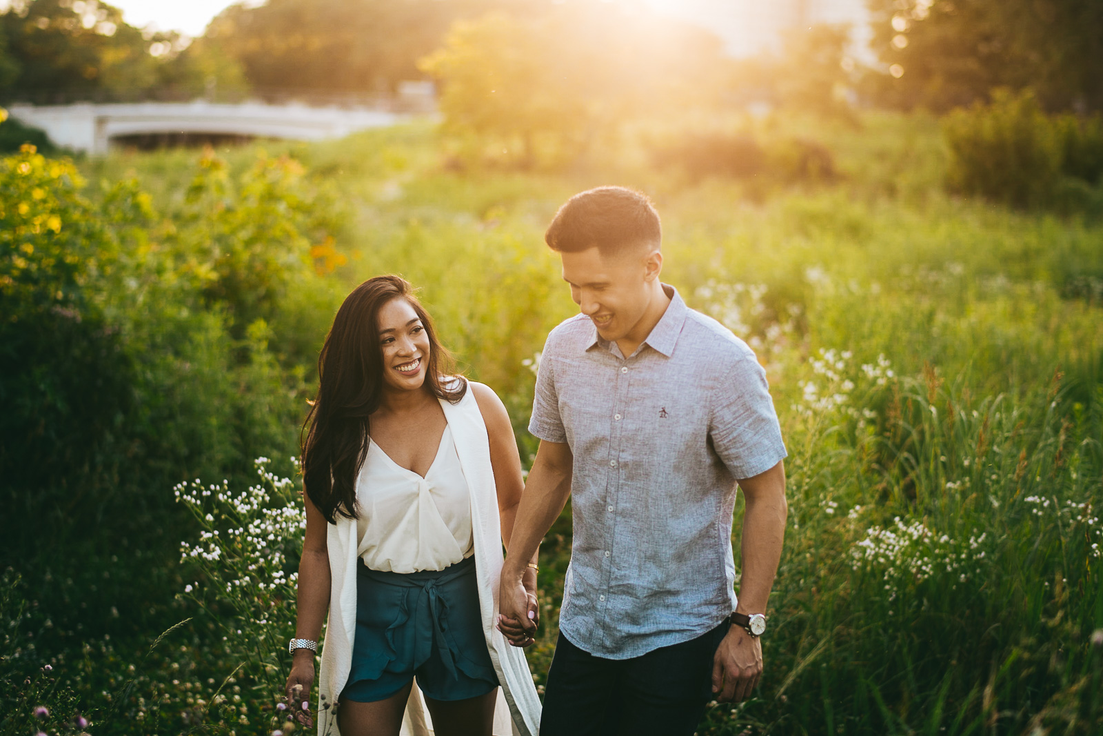 15 sunet engagement session - Sunset Engagement Photos // Francine + RJ