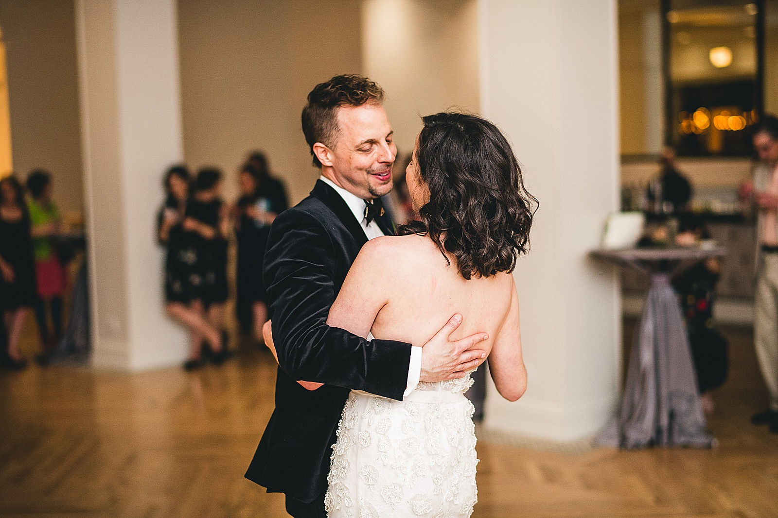46 first dance at chicago illuminating company - Chicago Illuminating Company Wedding // Samantha + Jeremy