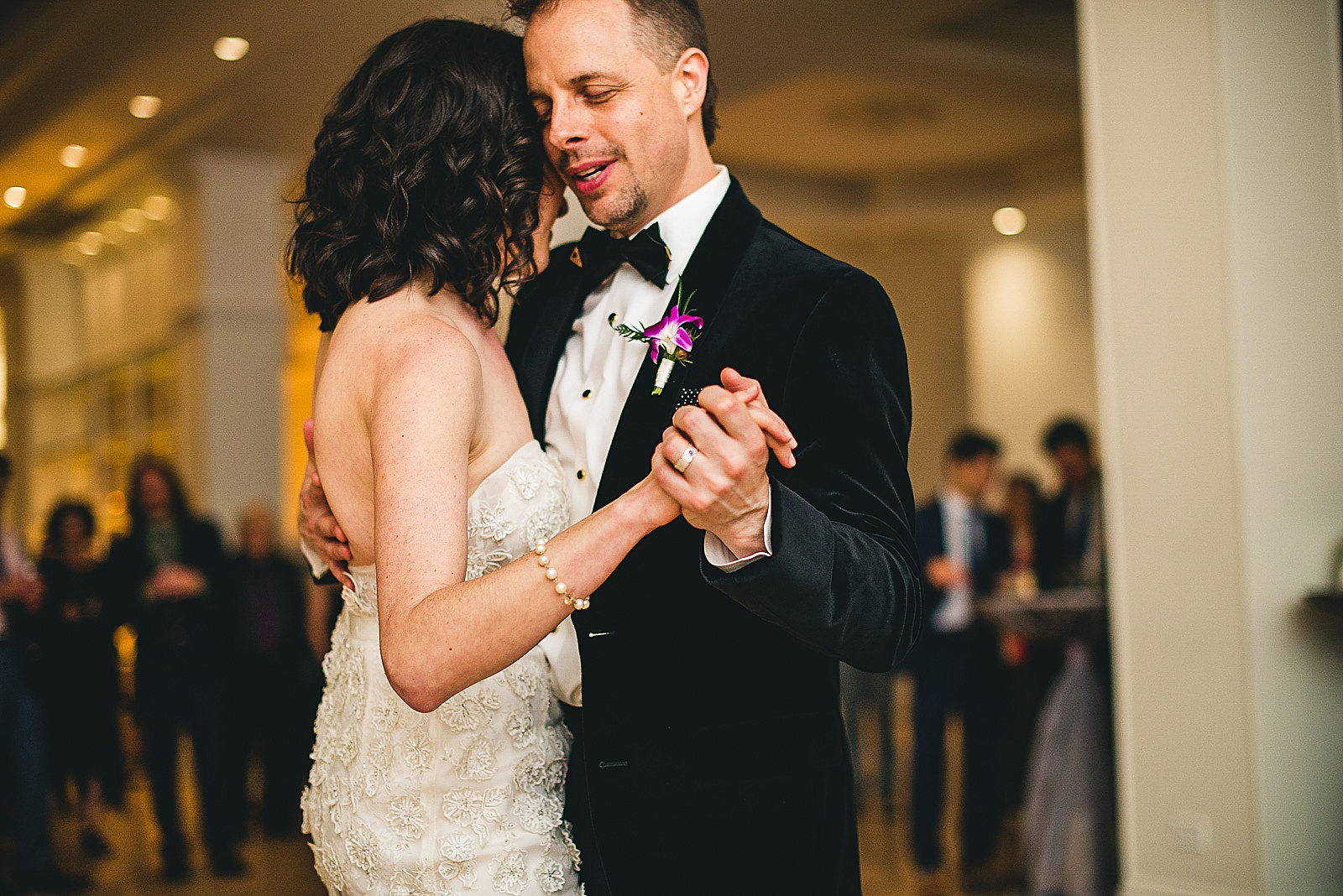 47 groom loving his bride during first dance - Chicago Illuminating Company Wedding // Samantha + Jeremy