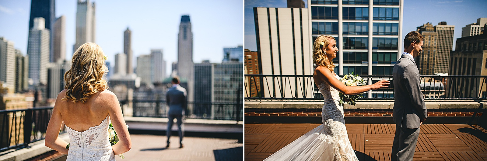 17 ambassador hotel in chicago first look - Audrey + Jake's Beautiful Chicago Wedding at Chez