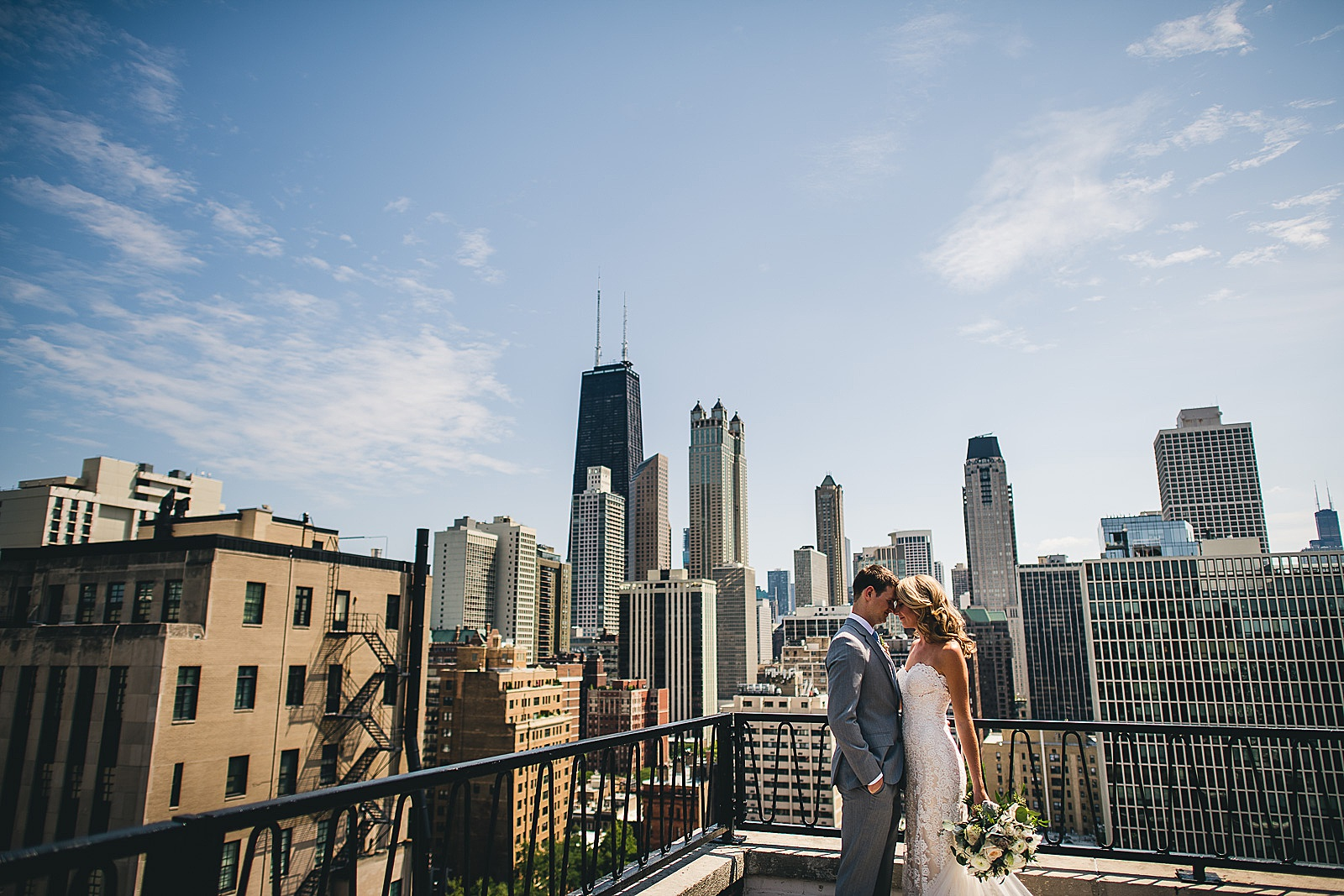 19 ambassador hotel wedding photos - Audrey + Jake's Beautiful Chicago Wedding at Chez