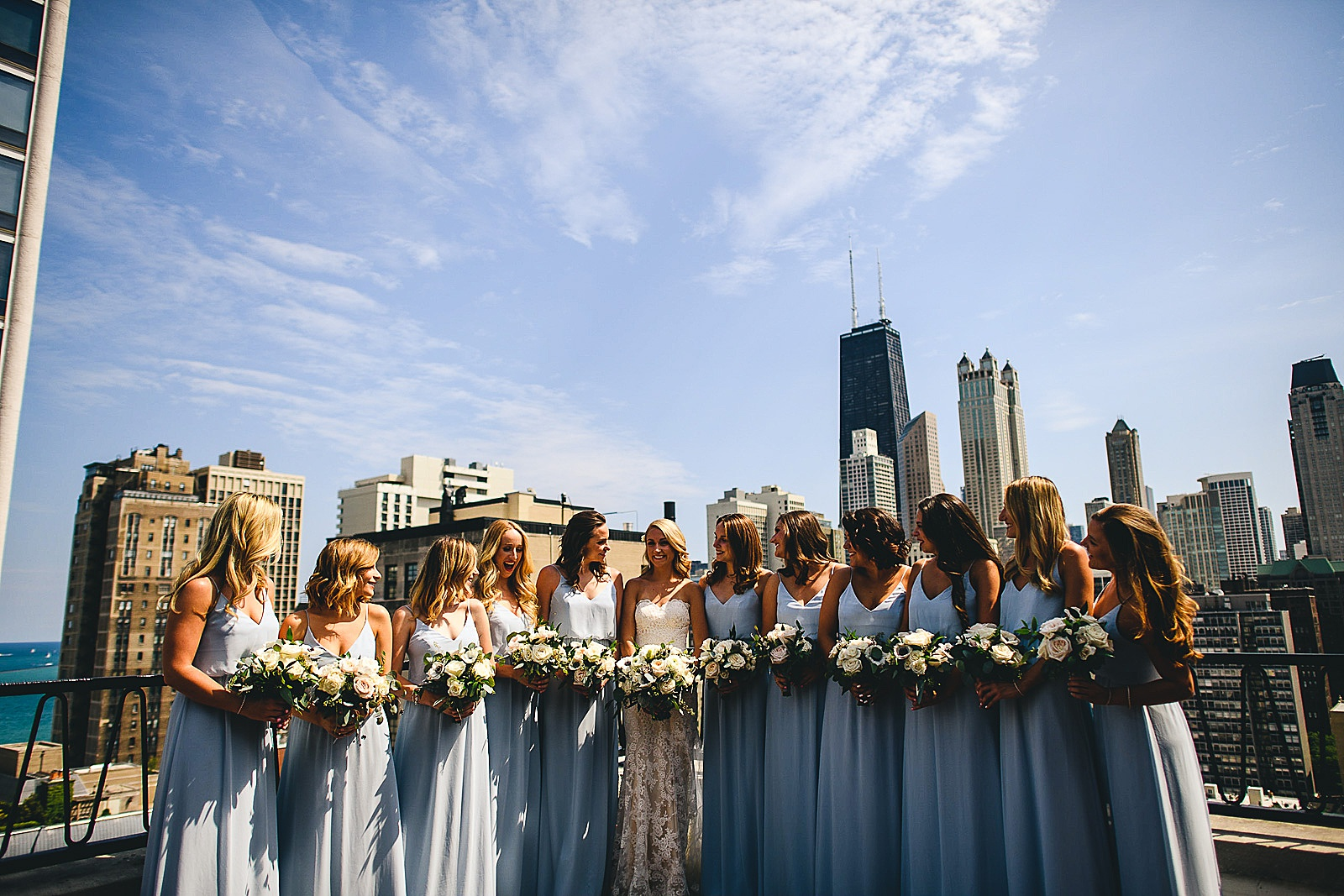 22 ambassador hotel bridal photos - Audrey + Jake's Beautiful Chicago Wedding at Chez