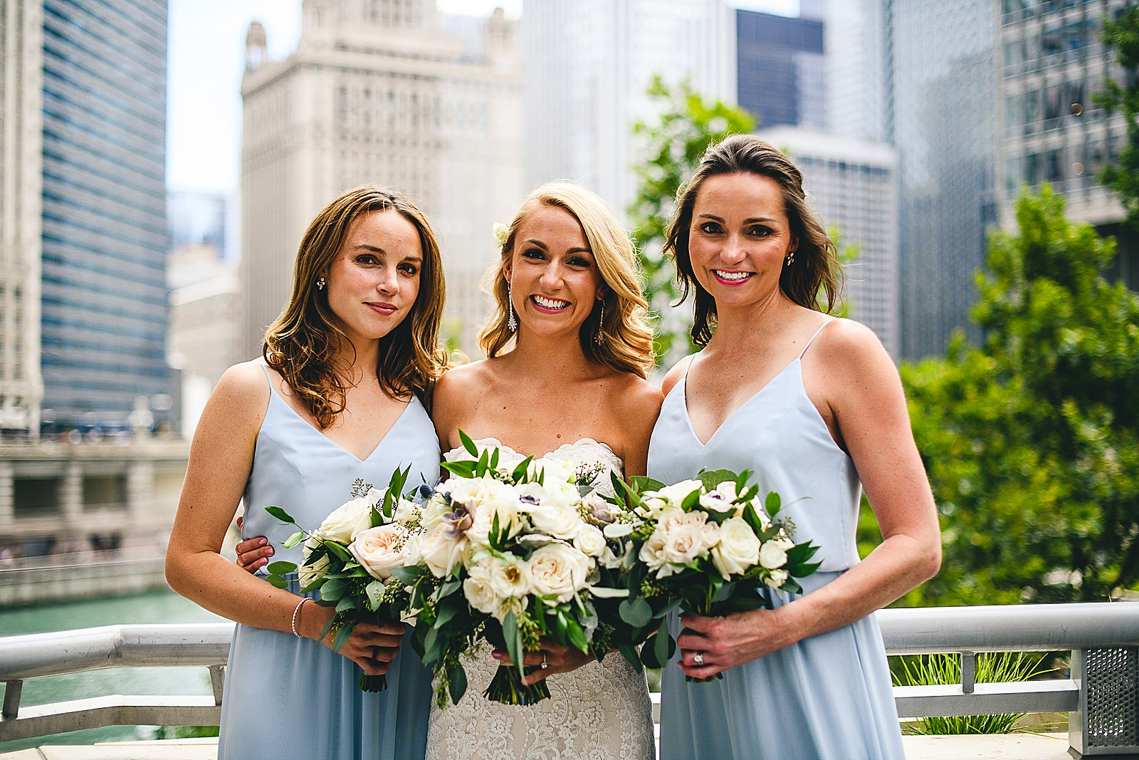 23 sisters - Audrey + Jake's Beautiful Chicago Wedding at Chez