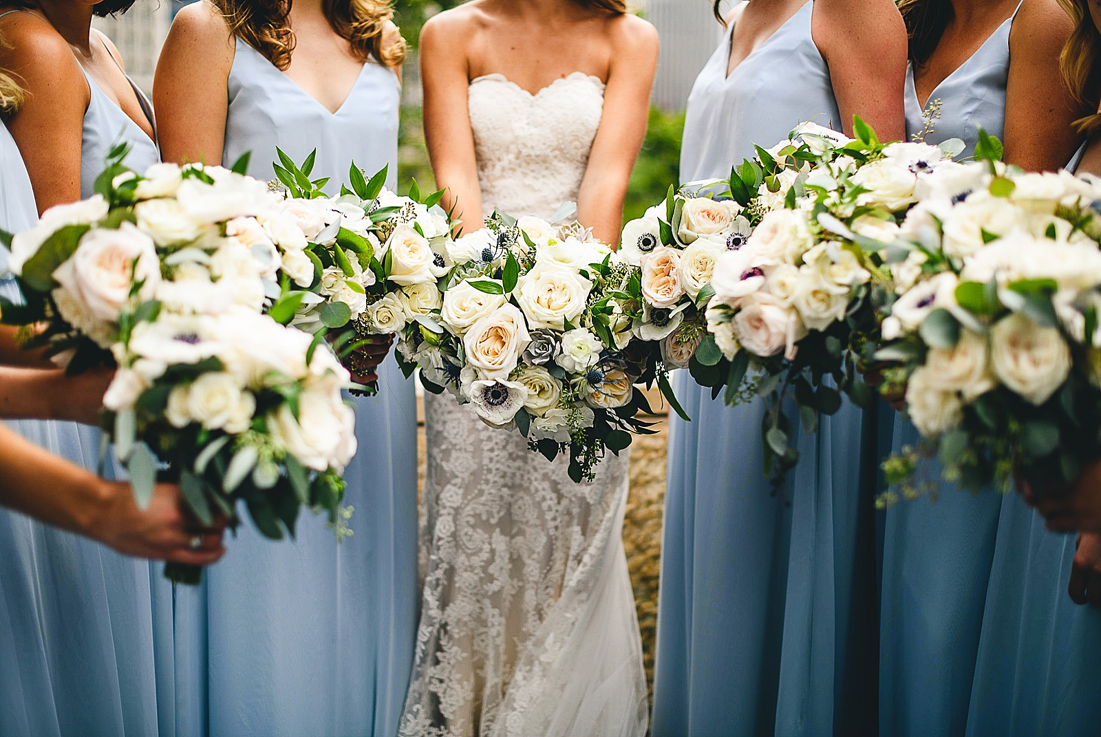 25 bridesmaids flowers - Audrey + Jake's Beautiful Chicago Wedding at Chez