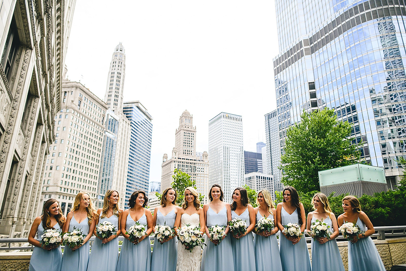 27 bridesmaids inspo - Audrey + Jake's Beautiful Chicago Wedding at Chez