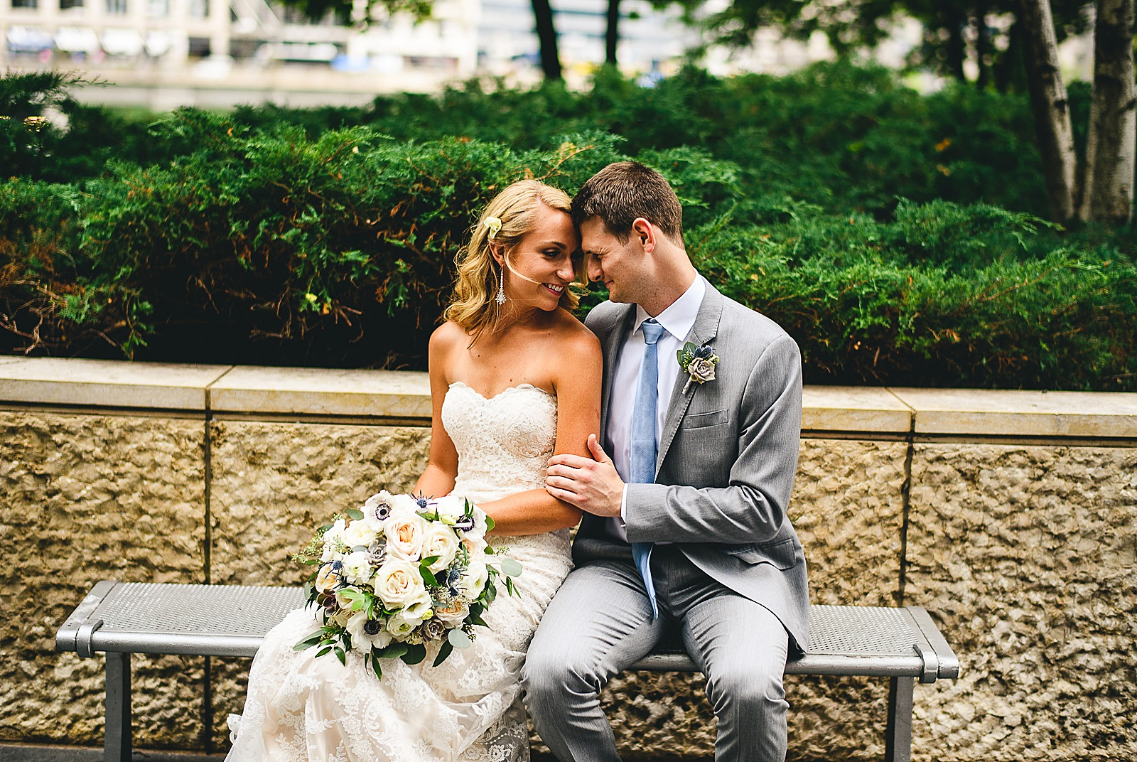 28 chicago wedding photographer - Audrey + Jake's Beautiful Chicago Wedding at Chez
