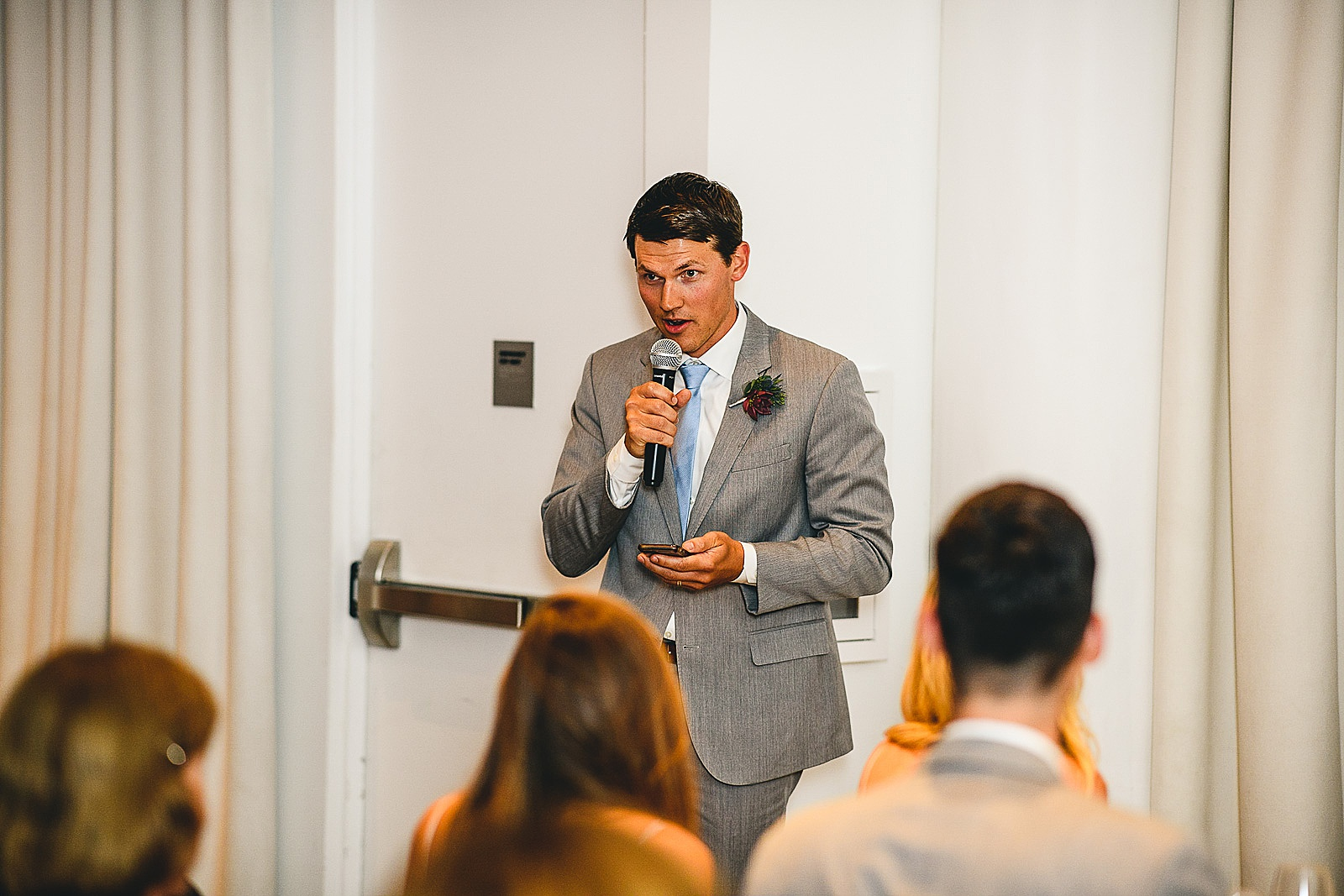 46 best man speech at chez wedding - Audrey + Jake's Beautiful Chicago Wedding at Chez