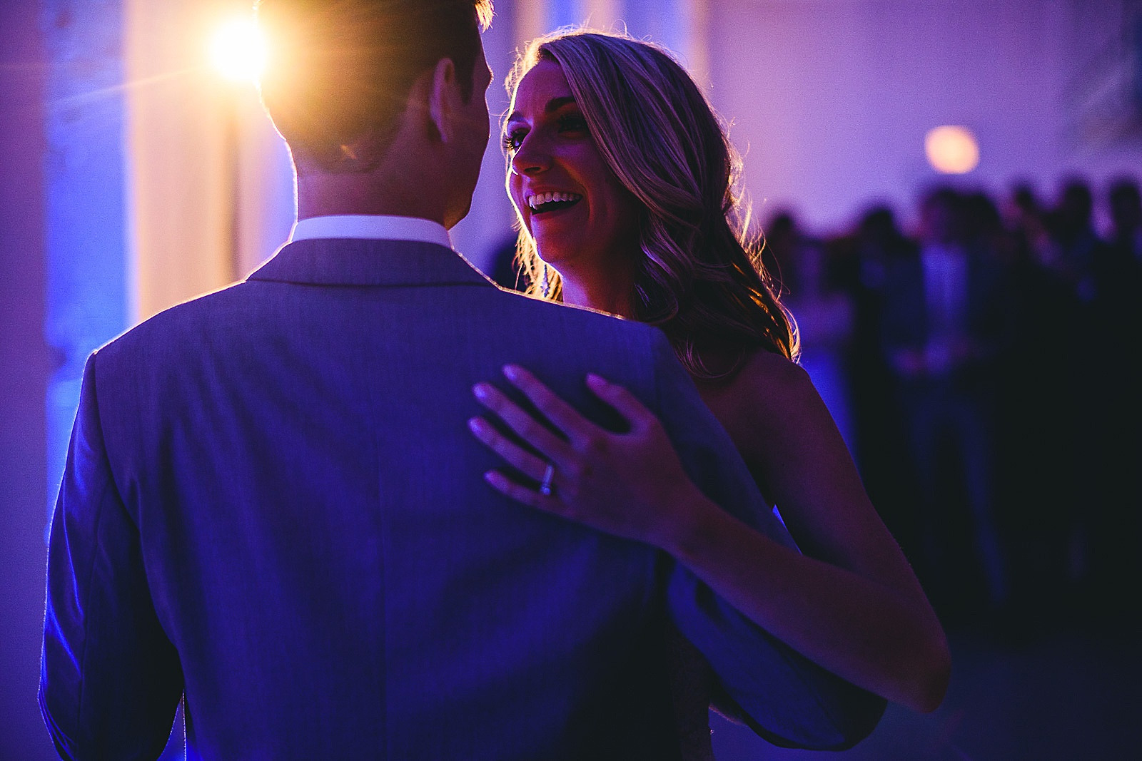 49 creative wedding photos at chez first dance - Audrey + Jake's Beautiful Chicago Wedding at Chez