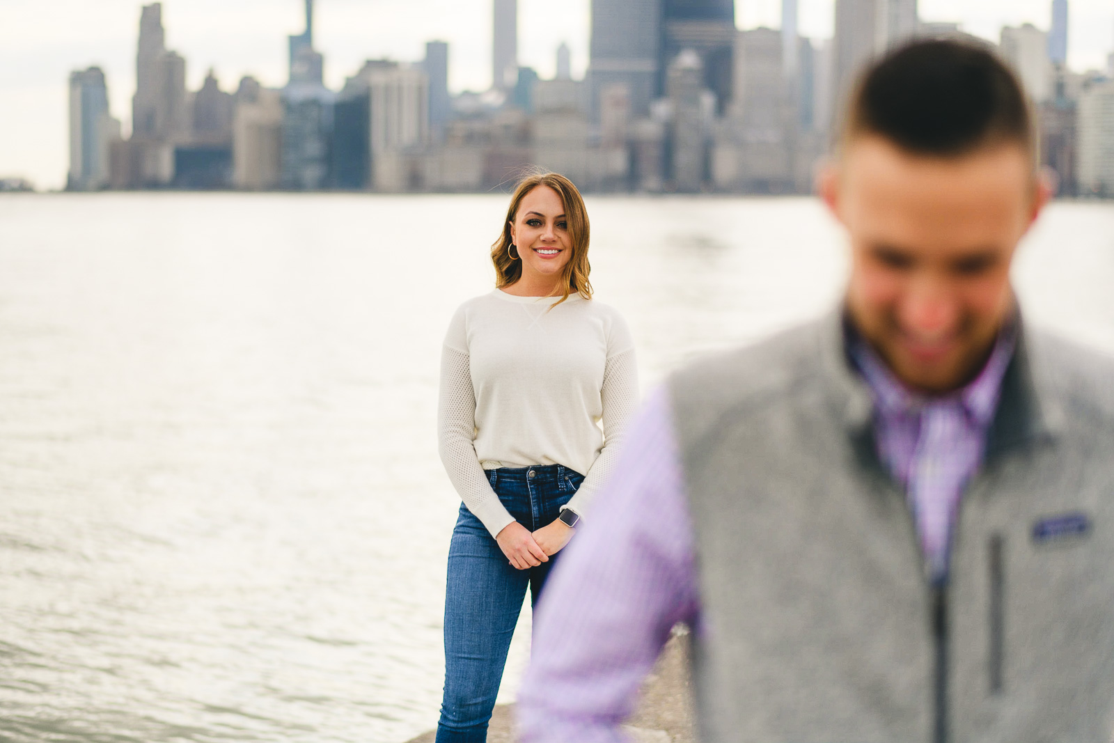 06 chicago winter engagement photos - Chicago Marriage Proposal // Mark + Jacklyn