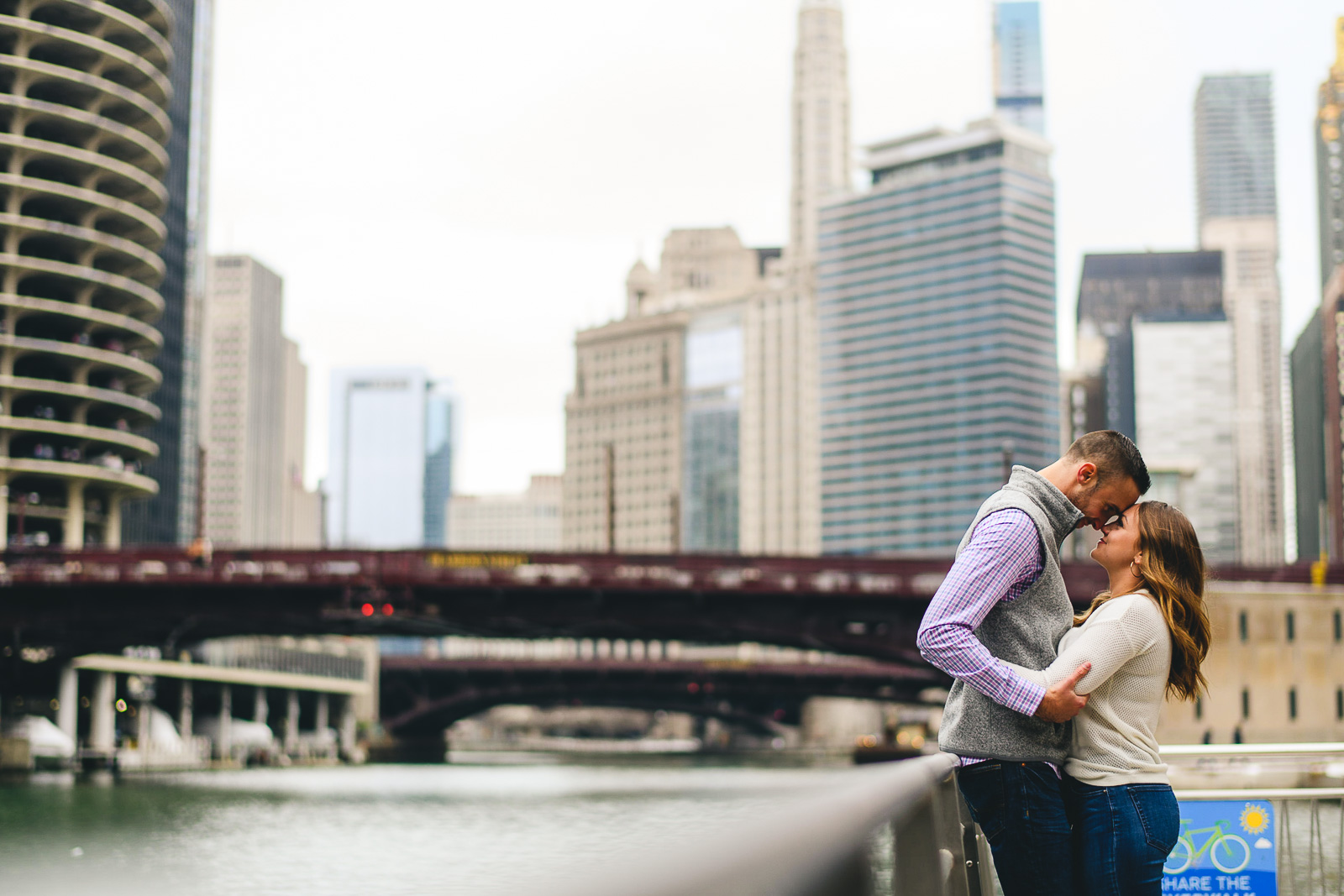 17 engagement photos on chicago riverwalk - Chicago Marriage Proposal // Mark + Jacklyn