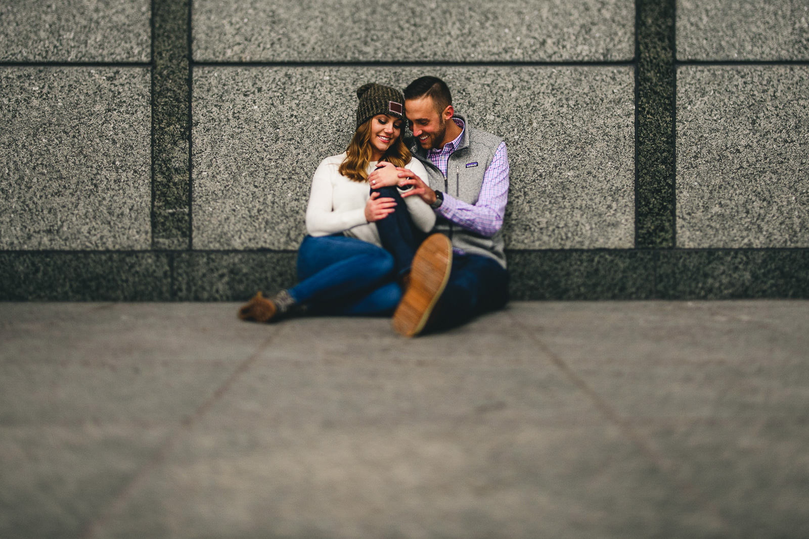 21 tilt shift engagement pictures - Chicago Marriage Proposal // Mark + Jacklyn