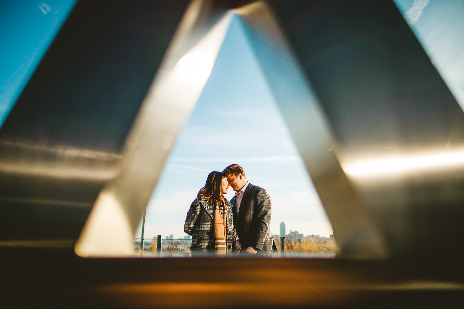 03 engagement photography at navy pier peter gubernat - Navy Pier Engagement Session // Tyler + Jing