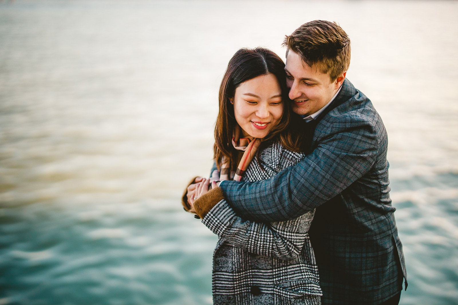 12 engagement session photos at navy pier - Navy Pier Engagement Session // Tyler + Jing
