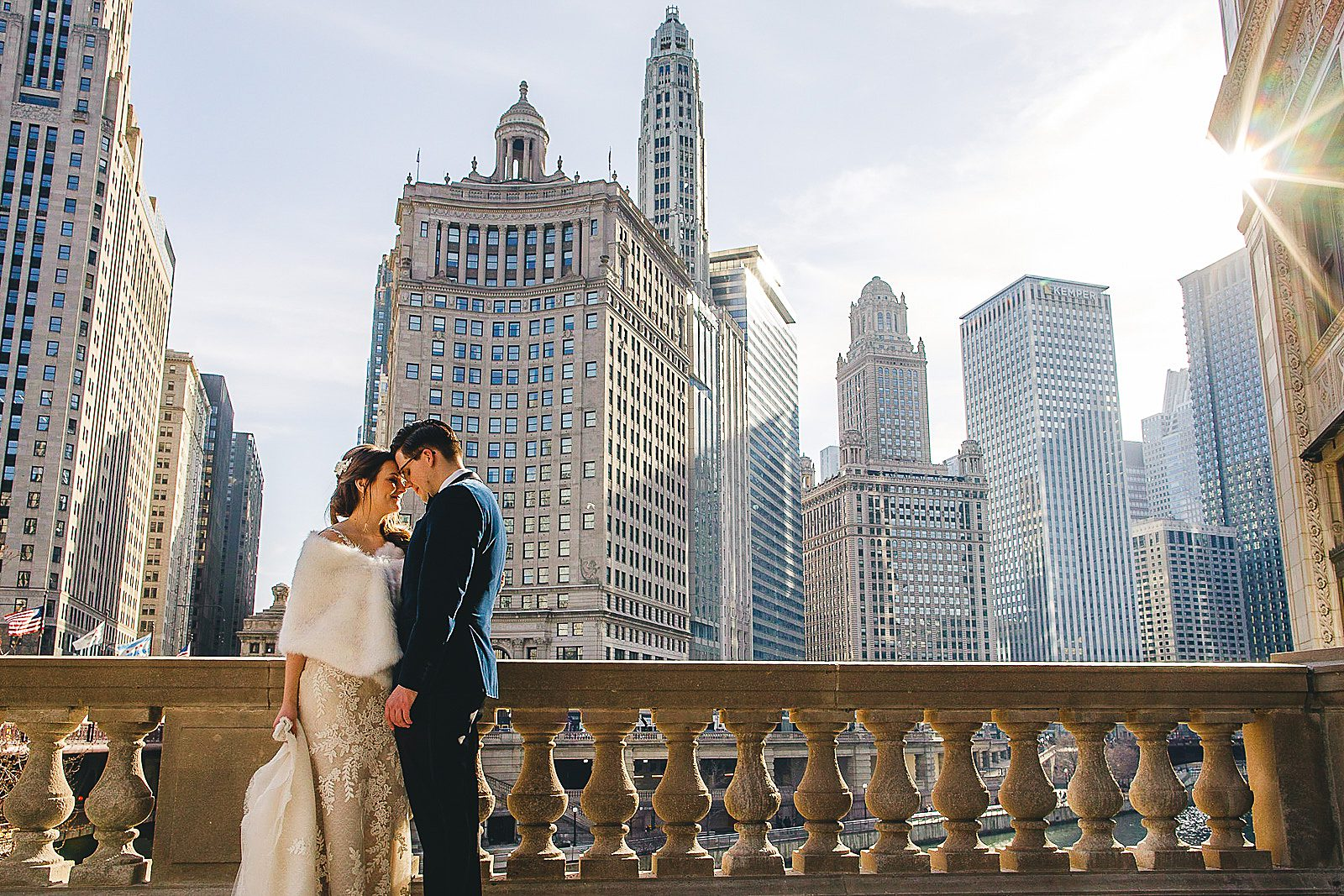 16 chicago wedding photograhy - The Wedding of Samantha + Kyle in Chicago