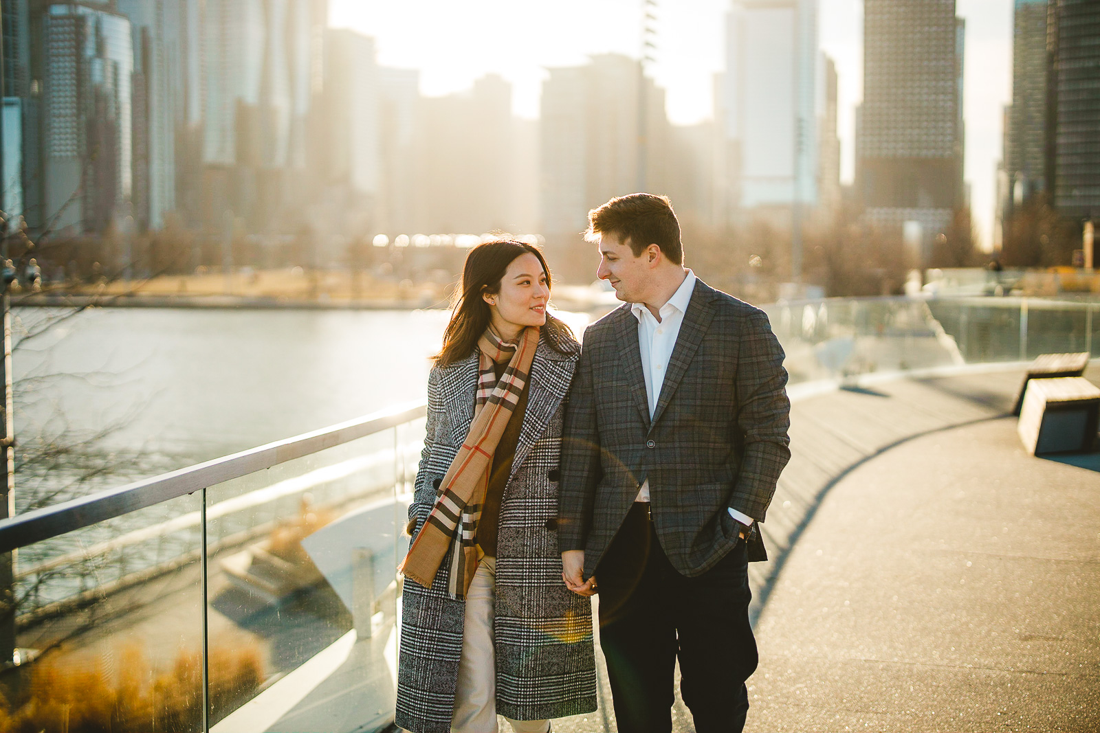 18 navy pier engagement session - Navy Pier Engagement Session // Tyler + Jing