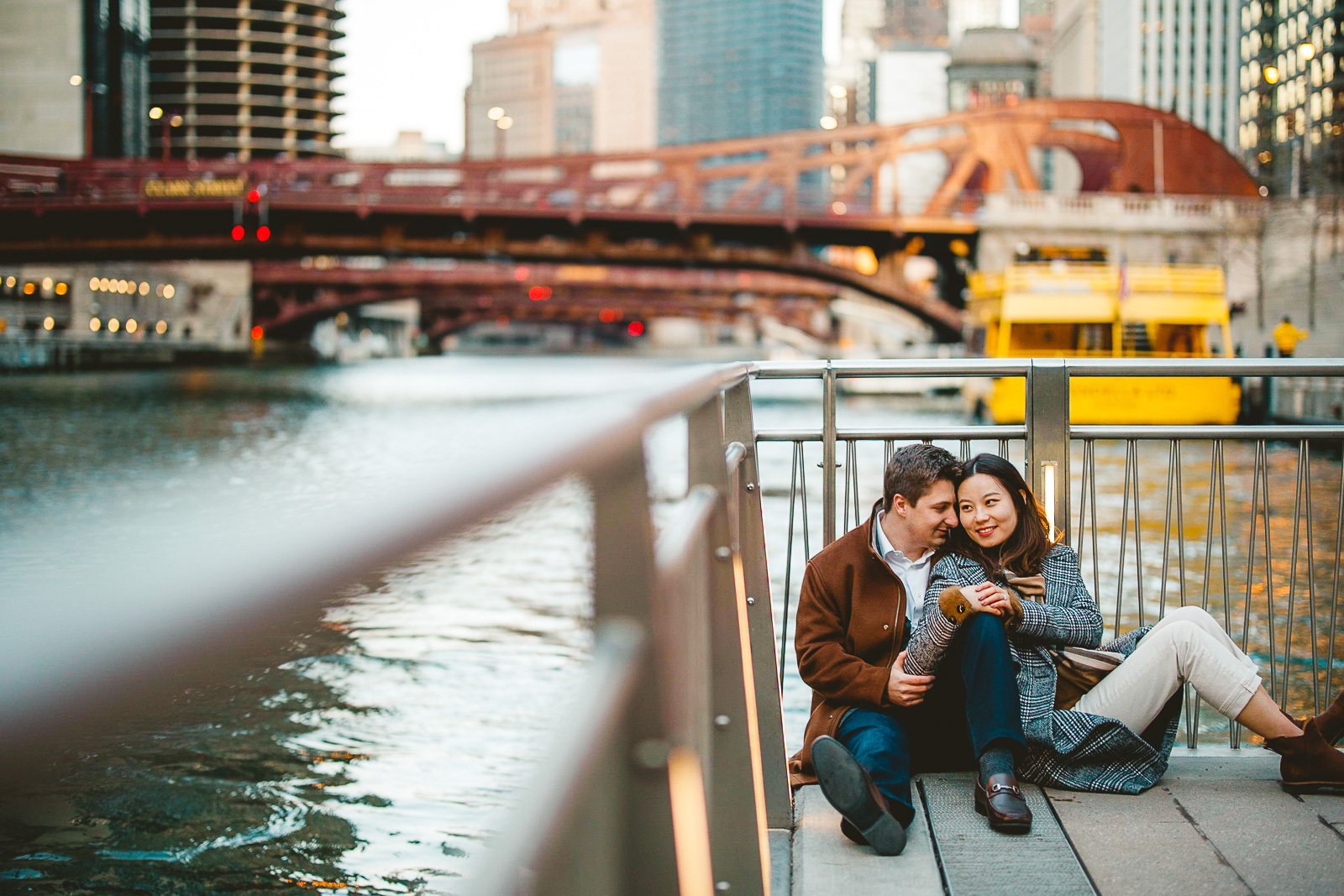 24 yes engagement photos - Navy Pier Engagement Session // Tyler + Jing