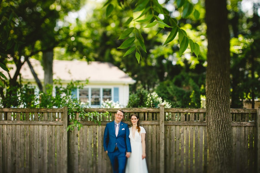 Amazing Wedding in Backyard // Kristen + Jeff