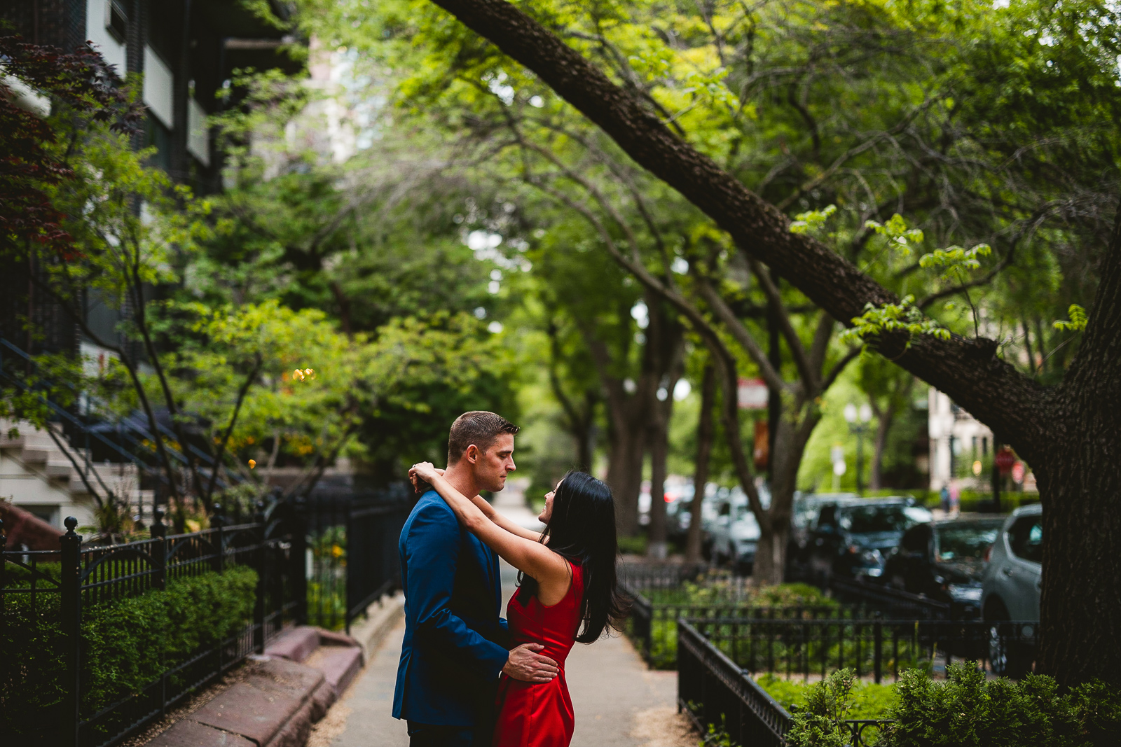 10 summer engagement photos in chicago - Alex + Jim // Sunset Engagement Session