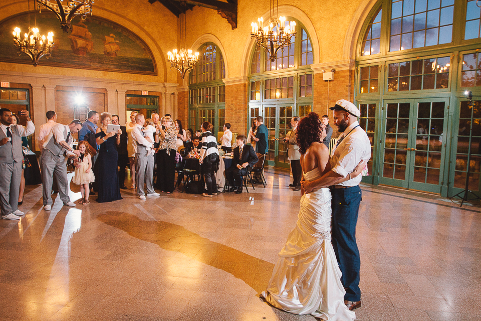 Columbus Park Refectory // Chicago Wedding Venues