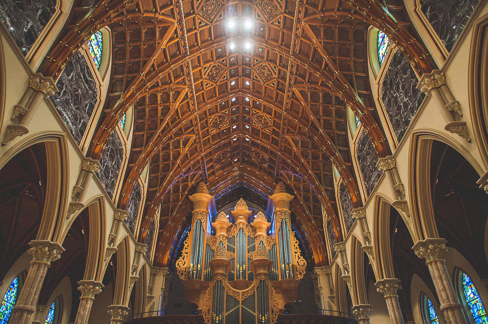 Holy Name Cathedral // Chicago Wedding Venue
