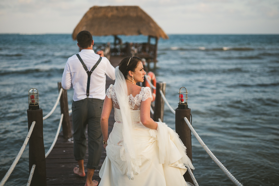 Kindal + Mike's Cancun Mexico Wedding