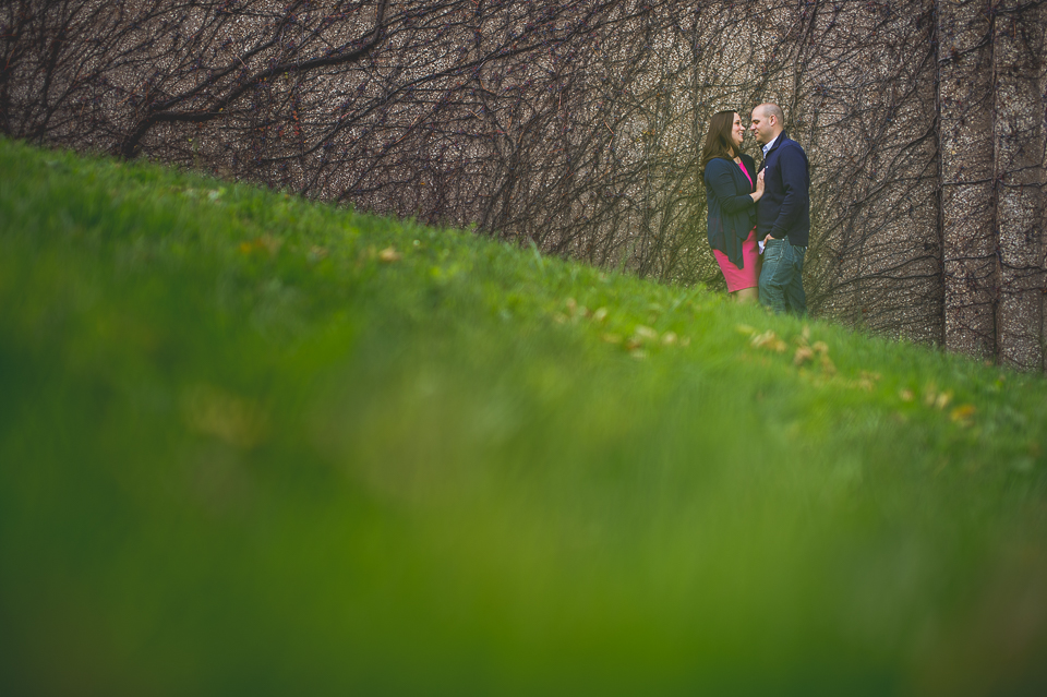 Pam + Vinny //  Chicago Engagement Session