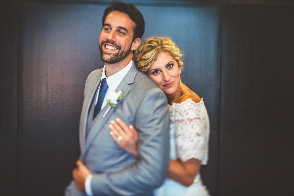 Jay + Callie // Downtown Chicago Wedding Photographer