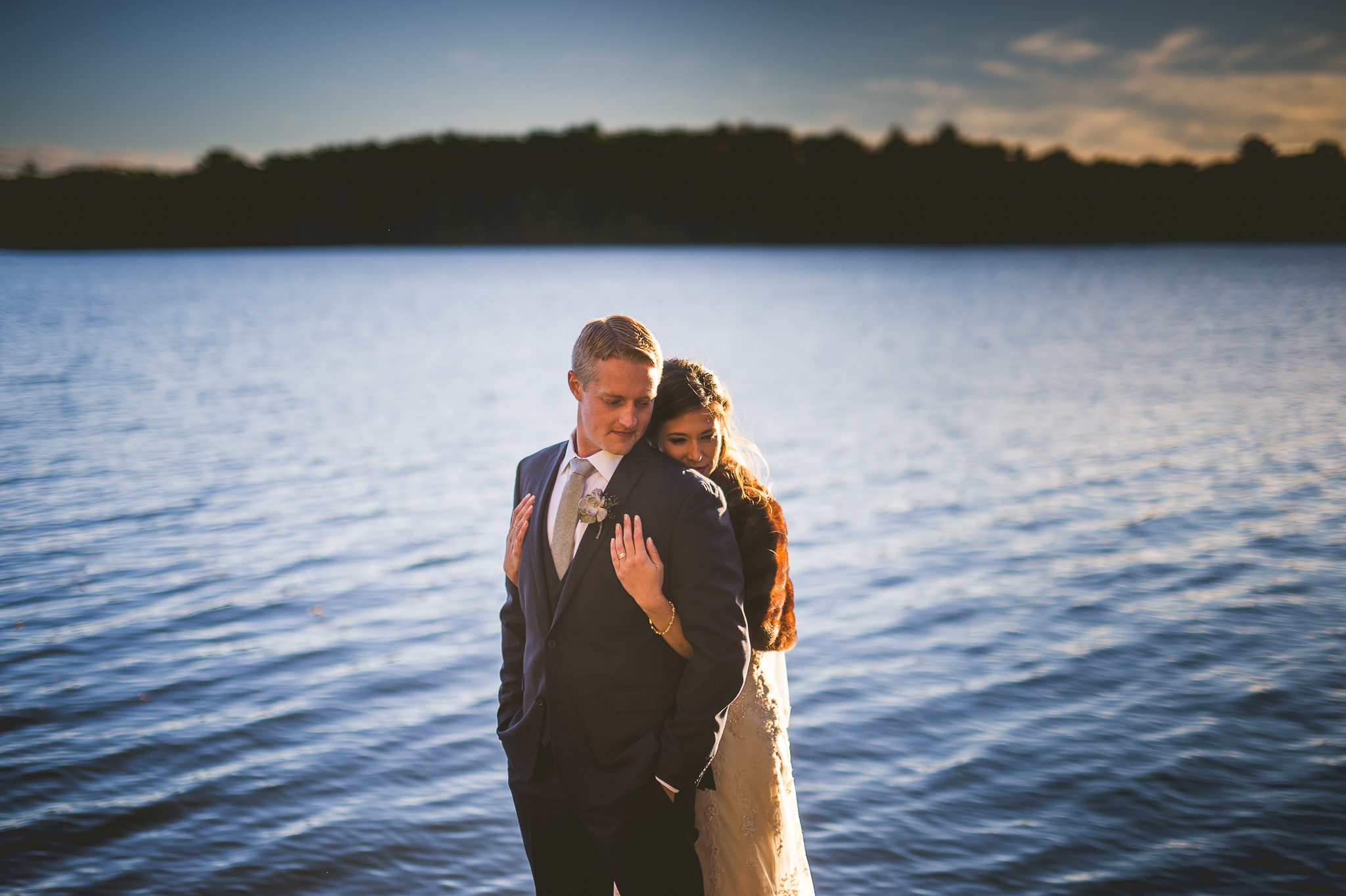 Mandy + Mike // Amazing Wedding at Stout's Island Wisconsin Preview