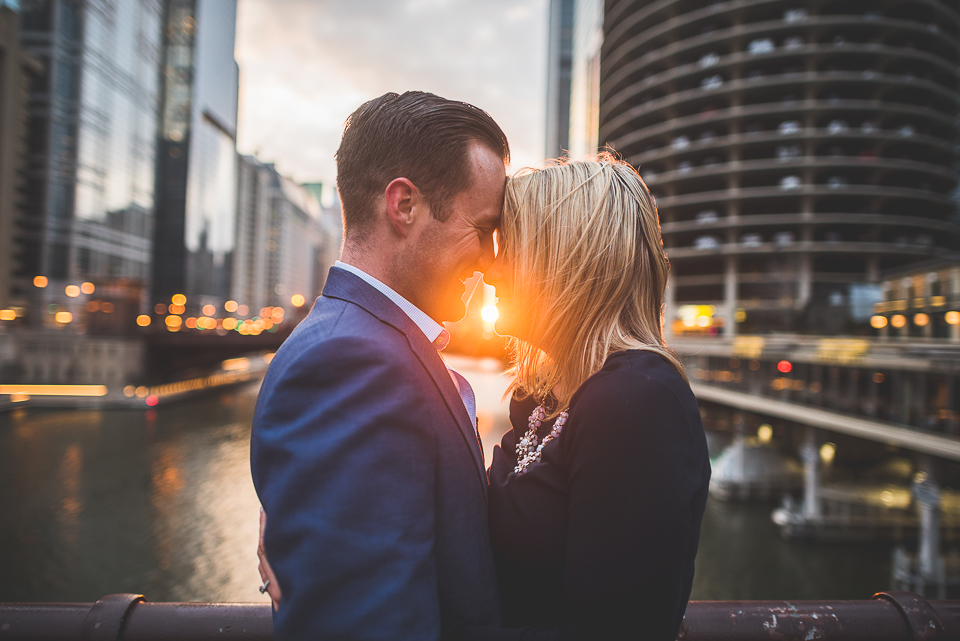Engagement Photo Session Downtown Chicago // Kristina + Dave