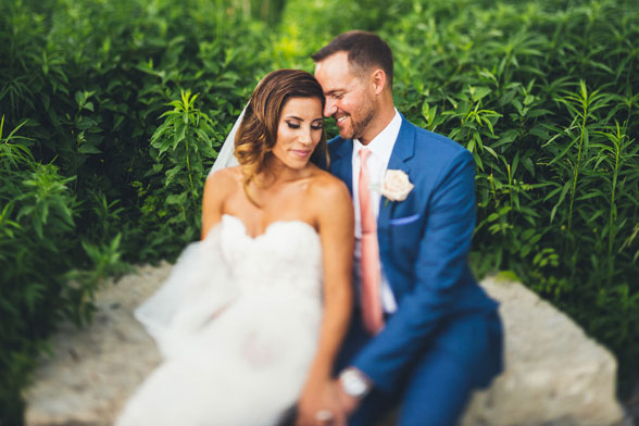 Natalie + Alan // Chicago Wedding Photographer at Cafe Brauer