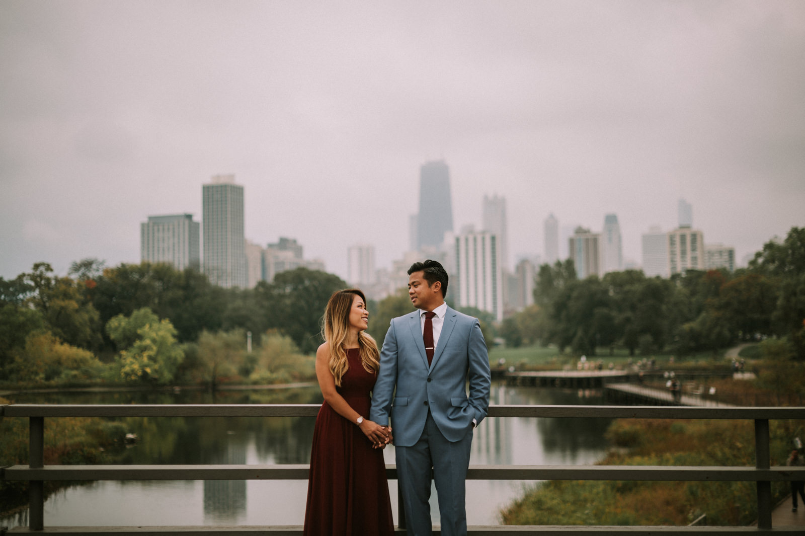 Connie + Jeff // Chicago Lincoln Park Engagement Session