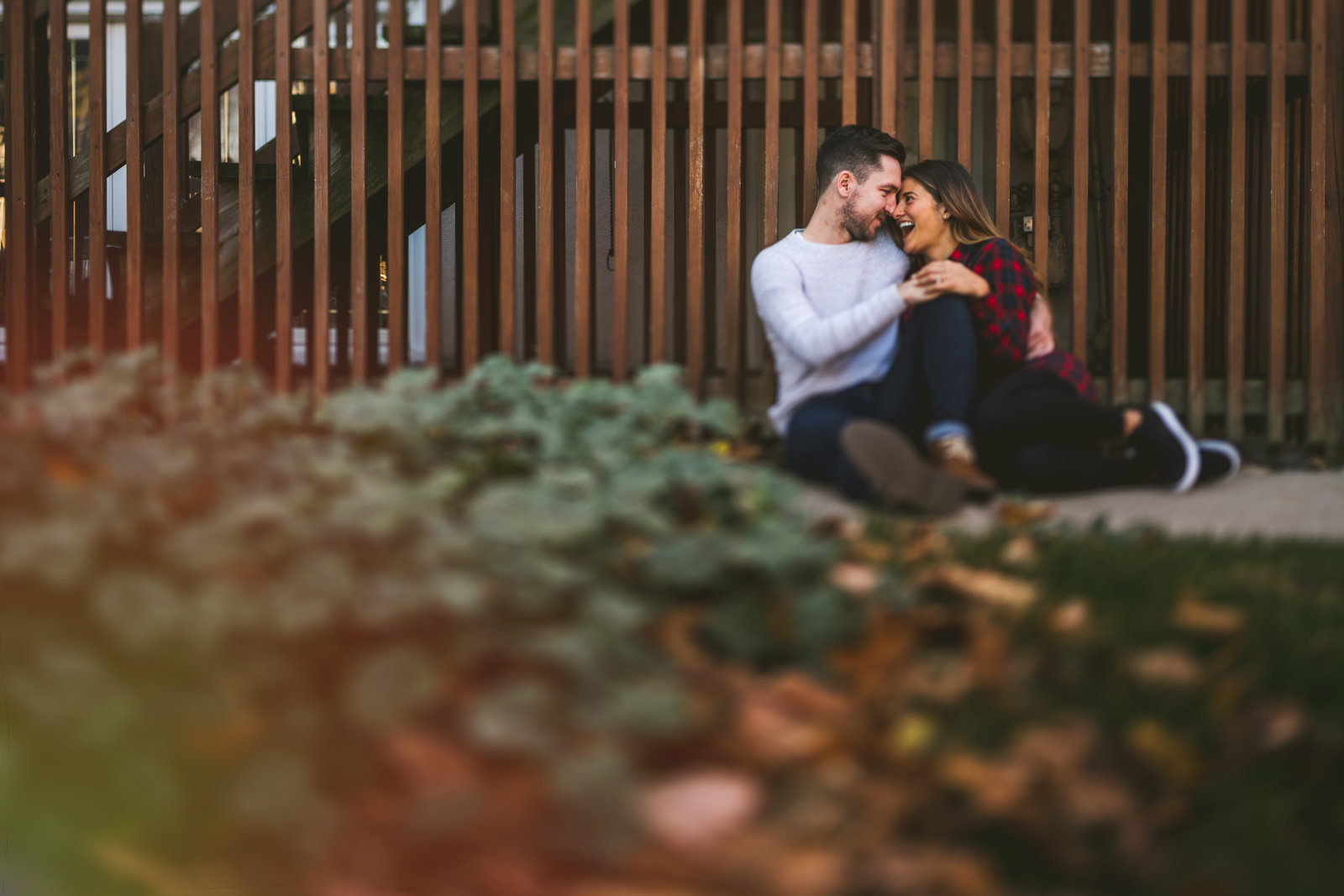 Joanna + Jamie // Engagement session in West Lakeview and Lincoln Park