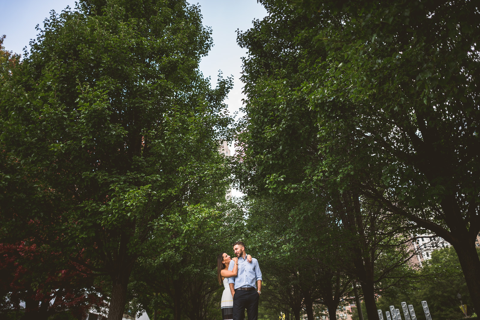 River North Chicago Engagement Session // Laura + Justin
